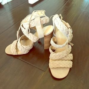 New BCBG tassel heels